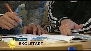 """Skolstart: """"De nyaanlända måste språkduschas"""" - Nyhetsmorgon (TV4)"""