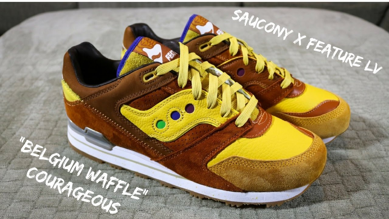 48f6301ee513 Why collabs are better than GR s + Saucony   Feature Belgium Waffle  Courageous  OttomanBoxOpenings
