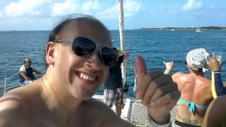 Paseo en catamaran de Cancun a Isla Mujeres
