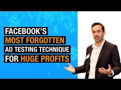 How to AB Split Test Facebook Ad Interests - The Eureka Master Class Episode 7