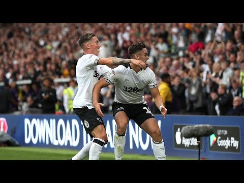 SHORT MATCH HIGHLIGHTS   Derby County 1-4 Leeds United