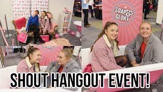 VLOG: SHOUT HANGOUT EVENT: beauty event & meeting Olivia Buckland| Floral Sophia