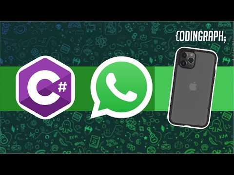 2018-Sending WhatsApp message with C # from Visual Studio