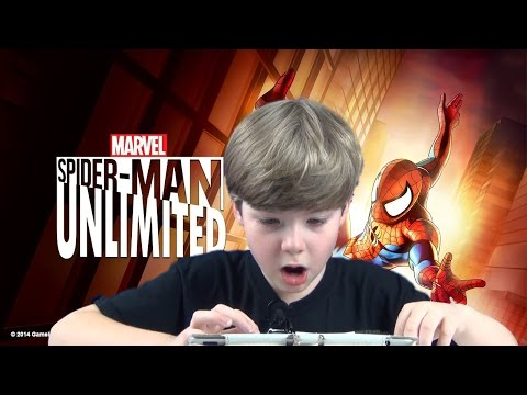 Playing Spider-Man Unlimited (#1) (iPad/iOS/Tablet Gameplay Video) (KID GAMING)