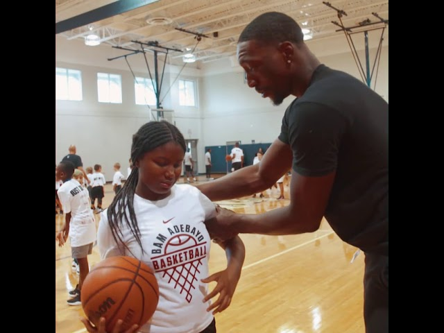 Miami Heat's Bam Adebayo 2nd annual basketball Clinic
