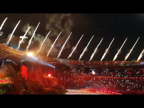 AMAZING! Fancam Proses Nyalain Cauldron Di Opening Ceremony Asian Games 2018