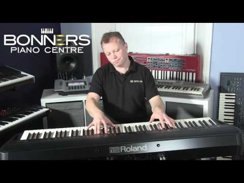 Kraft music roland rd 300nx stage piano demo with sco for Yamaha cp50 review