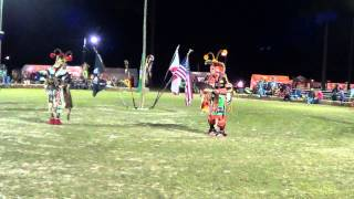 Poarch Creek pow wow 2013 - Mens Chicken Song 1