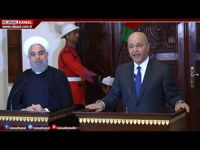 İran Cumhurbaşkanı Ruhani Irak'ta