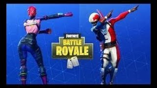 WE TEST DANCES FORTNITE WITH MY LITTLE SISTER OF THE BARS!