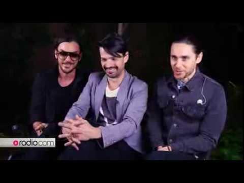 30 Seconds to Mars - Interview @ Radio.com