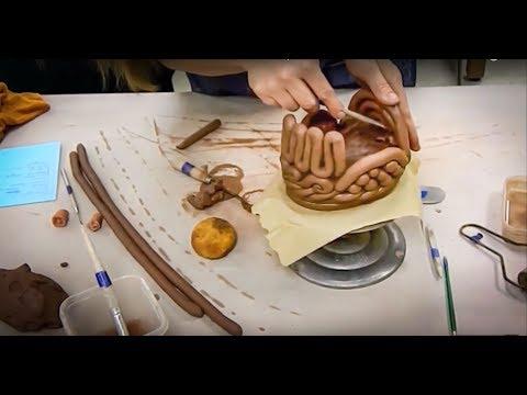 Thematic Coil Pot or Piece- Decorative Coil Construction Techniques Demo for Ceramics I