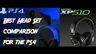 best headsets for ps4 turtle beach versus sony gold s xp510 px5 px4 and astro a50 s