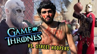 Game Of Thrones Characters KILL Hoopers In The Hood! 😱