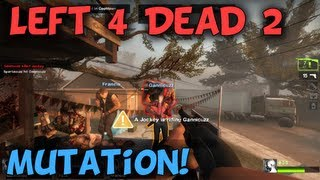 CLOWNS AND JOCKEYS - Left 4 Dead 2 Mutation Holdout Game Mode with LAGx