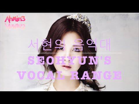 Seohyun's Vocal Range 서현의 음역대 (C3 ~ C#6) [1옥타브 도 ~ 4옥타브 도#]