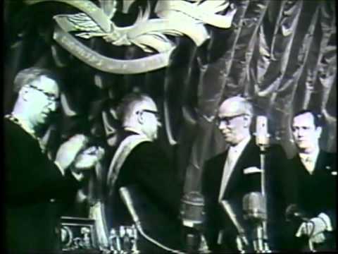 Rómulo Betancourt (13 de febrero de 1959) - Toma de posesión presidencial de Venezuela