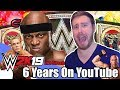 6 YEARS ON YOUTUBE CELEBRATION- WWE 2k19 Conman167 Universe Mode