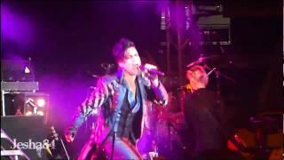 Adam Lambert - Strut - Tampa/St. Petersburg, FL 9/18/10