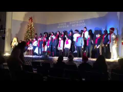 """The Polar Express Medley"" - 2017-2018 Esek Hopkins Middle School Chorus"