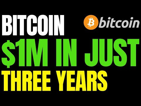 Anticipating $1M Bitcoin Price In Just Three Years, Calls BTC 'Biggest Trade Of Our Lifetimes'
