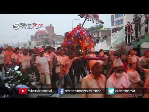 Sindur Jatra Festival : Bisket Jatra : Lokanthali : Bhaktapur