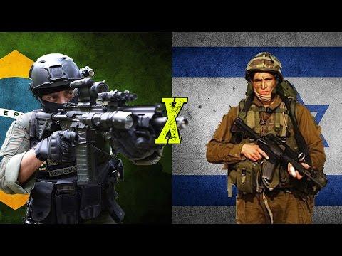 Brasil x Israel - Comparação Militar
