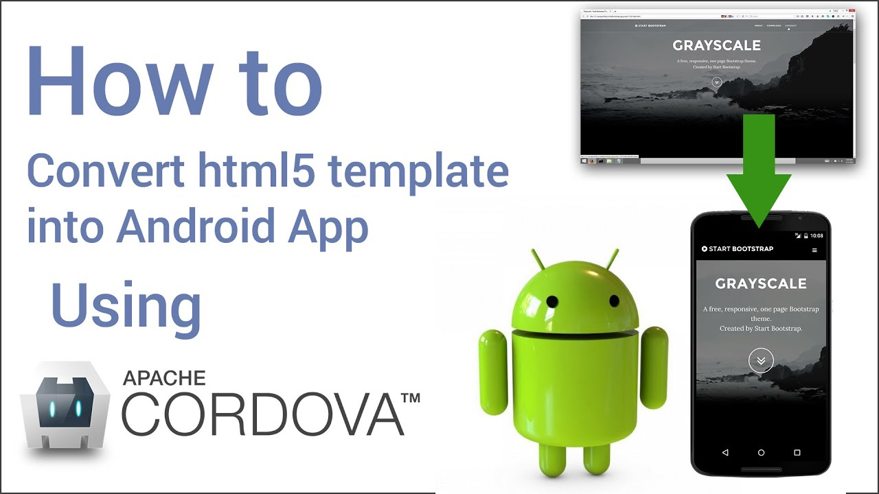 How to convert html website into android app in 5 minutes for Apps to change photos