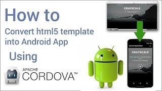 How to convert html website into android app in 5 minutes using cordova in hindi