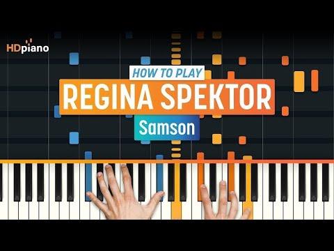 """Samson"" by Regina Spektor   HDpiano (Part 1)"