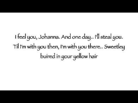 Sweeney Todd ~ Johanna ~ Lyrics