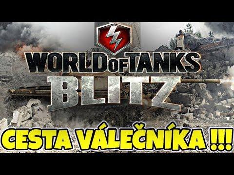 JAK DOPADLA CESTA VÁLEČNÍKA !!! / World of Tanks CZ Blitz thumbnail