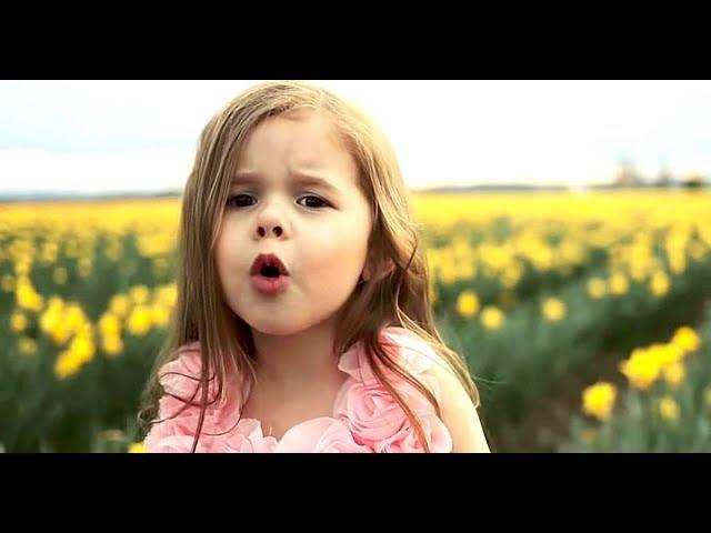 ❤❤❤Amazing Little Girl Claire Ryann Sings Gospel Song 4 Jesus & 4u2 ❤❤❤