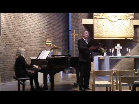 Jag gick idag där Jesus gått (G. O'Hara) Rutger Åsheim, baryton