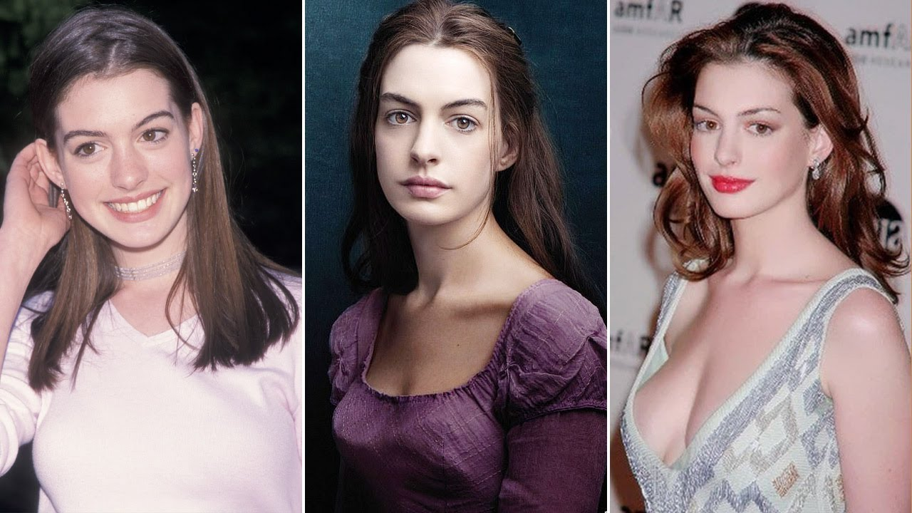 Download Anne Hathaway Transformation ★ 2021| From 02 To 38 Years Old
