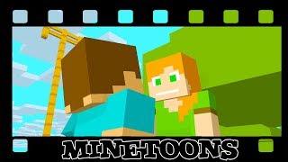 STEVE PROPOSED ALEX - Monshiiee Minetoons Animations