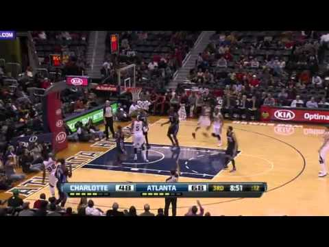 Charlotte Bobcats vs. Atlanta Hawks Full Highlights 13 December 2012