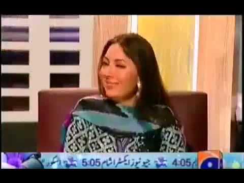 Drank sharmila farooqi singing in Geo TV show is this islamic country