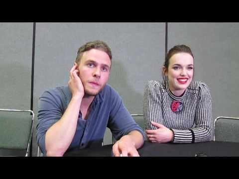 Iain De Caestecker & Elizabeth Henstridge for Agents of SHIELD at Wondercon 2017
