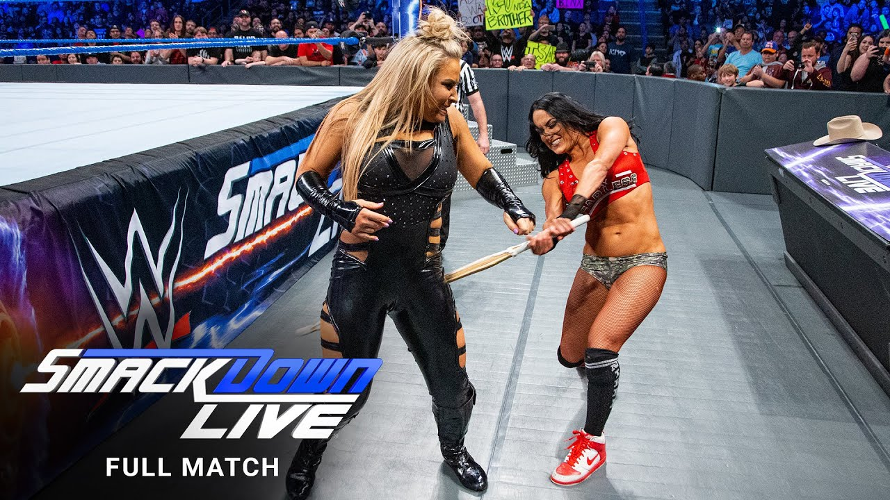 Download FULL MATCH - Nikki Bella vs. Natalya – Falls Count Anywhere Match: SmackDown, Feb. 21, 2017