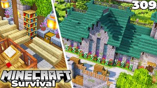 Minecraft 1.16 Survival Let's Play : Building a Church!