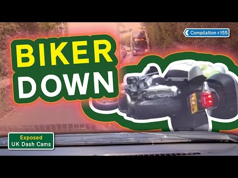 Exposed: UK Dash Cams - Poor Drivers, Road Rage + Crash Compilation #155