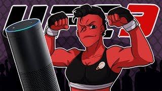 AMAZON ALEXA IS TRYING TO KILL ME! | EA UFC 3 (Women's Strawweight Career) (EP2)