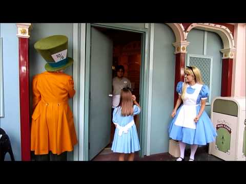 Alice and Hatter Playing Pranks