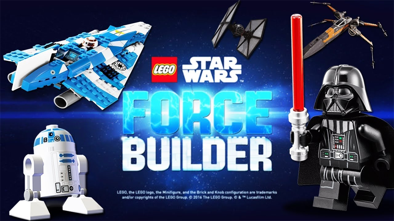 Lego Star Wars Force Builder Ios Android Hd Gameplay Trailer