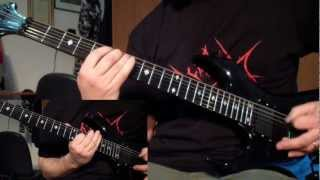 Deicide - Homage for Satan (guitar cover)