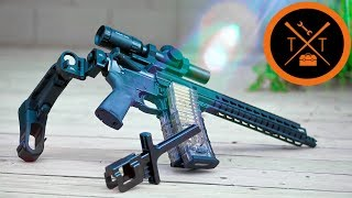 "Custom 10.5"" AR Pistol Build //Affordable Folding Stock Adapter"