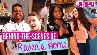 Raven's Home Cast Takes Fans Behind the Scenes of Their Disney Channel Set