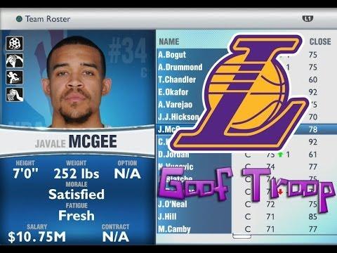 The Goof Troop Fantasy Draft - NBA 2K14 MyGM