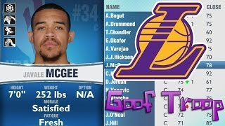 The Goof Troop Fantasy Draft - NBA 2K14 MyGM